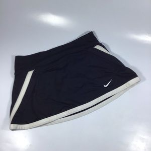 Nike Dri fit tennis skort extra small black white